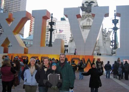 Feb 2012 - Super Bowl in Indianapolis