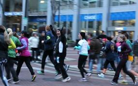 Nov 2012 - Hubby's 1st half Marathon