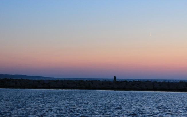 Sunset on Lake Michigan #2 7-10-13
