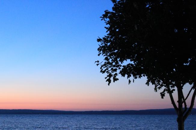 Sunset on Lake Michigan 7-10-13