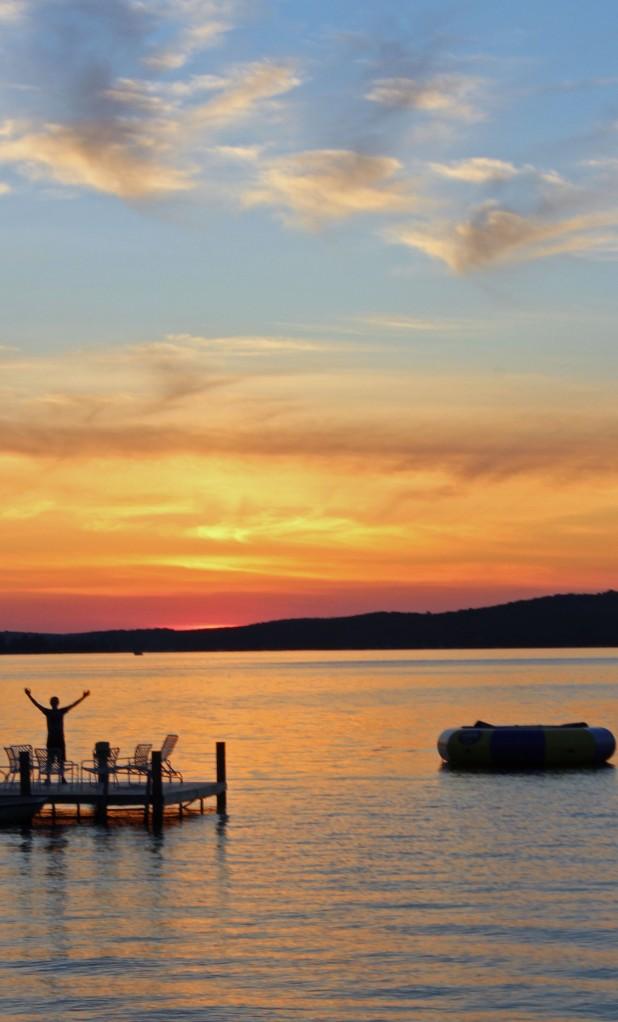 Sunset on Walloon Lake #3 7-12-13