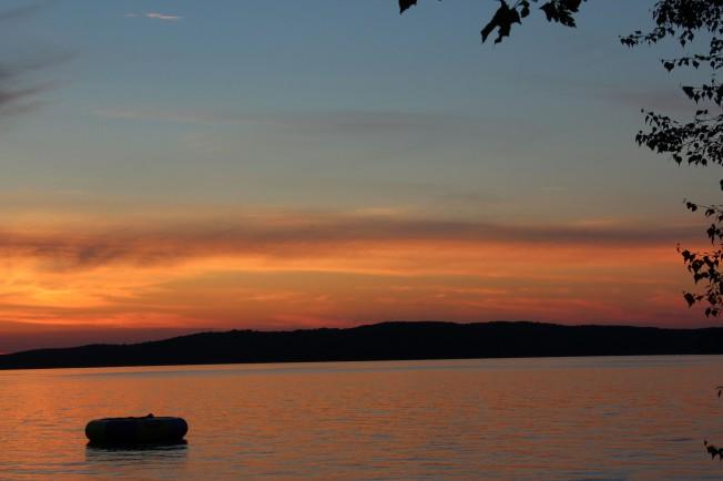 Sunset on Walloon Lake #4 7-12-13