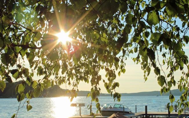 Sunset on Walloon Lake 7-12-13