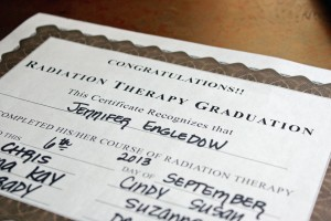 radiation graduation